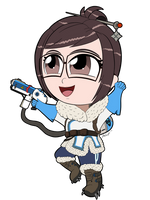 Commission: Chibi Mei-Ling Zhou by freqrexy