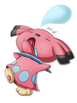 Snubbull used Sleep Talk!
