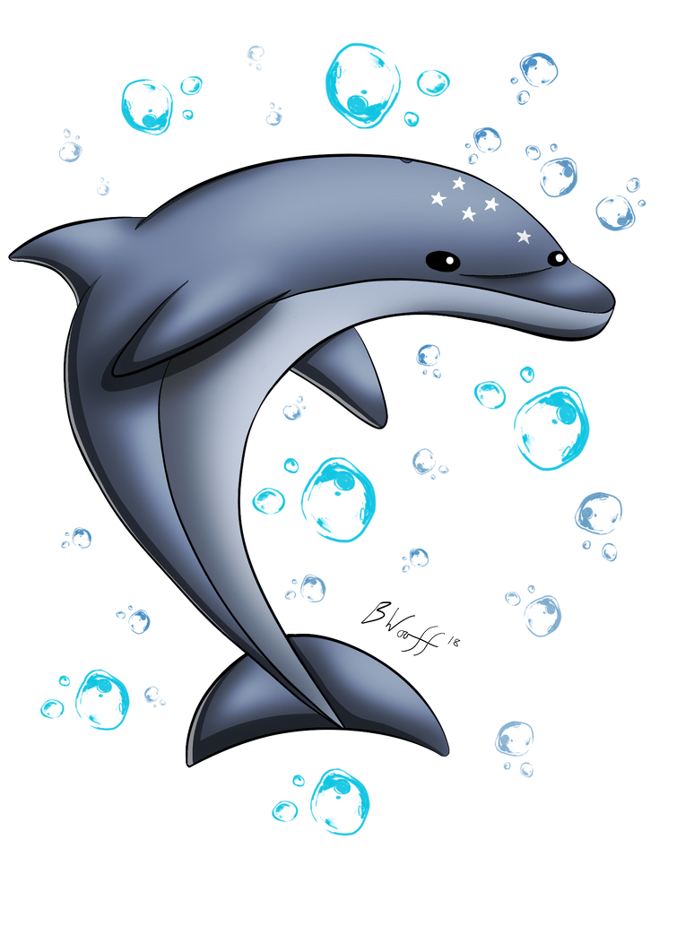 May 2018 Patron's Choice - Ecco the Dolphin by freqrexy