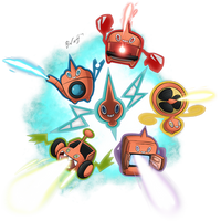 Rotom used Charge Beam! by freqrexy