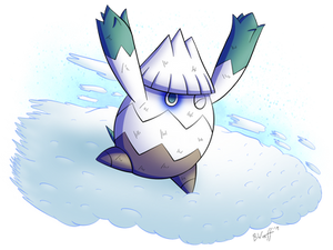 Snover used Avalanche!