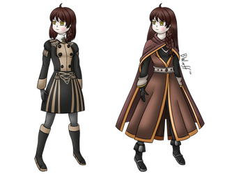 Commission: Numagakure's Fire Emblem OC