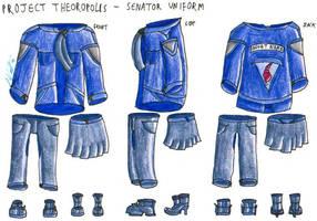 Theoropolis: Senator Uniform by freqrexy