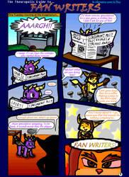 Spyro+Ratchet - Fan Writers p1 by freqrexy