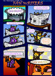 Spyro+Ratchet - Fan Writers p1 by freqrexy