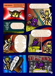 Spyro+Ratchet - Fan Writers p7 by freqrexy
