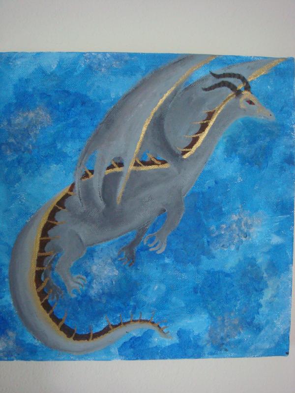 Dragon by saphiestar