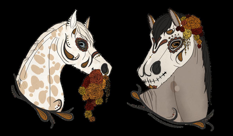 Los caballos de los muertos by ghillietoes42