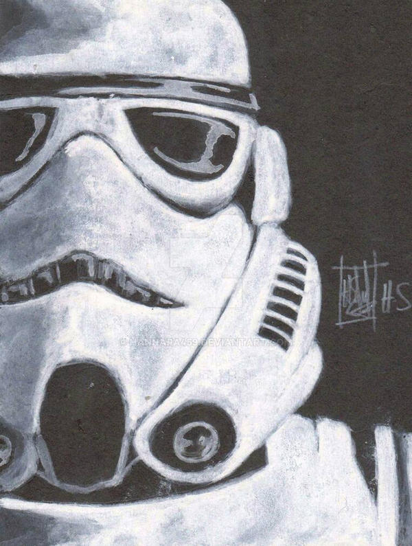 Stormtrooper by Hannara459