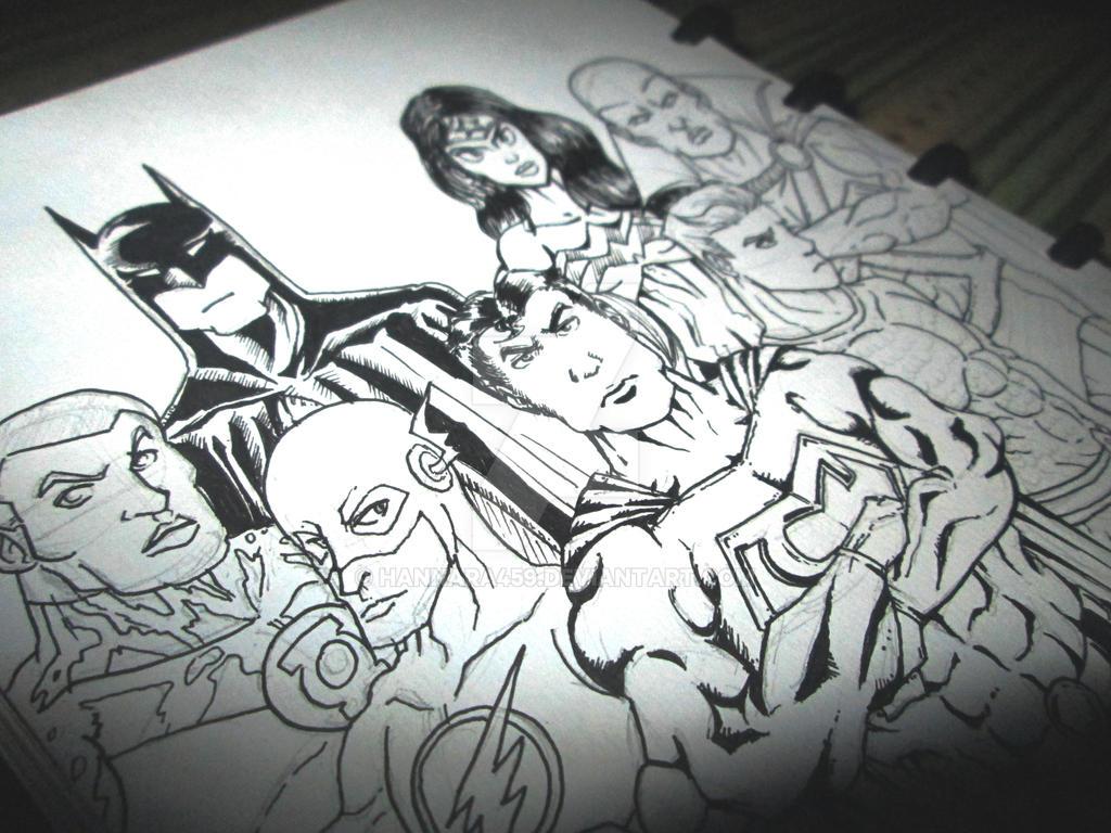Justice League by Hannara459