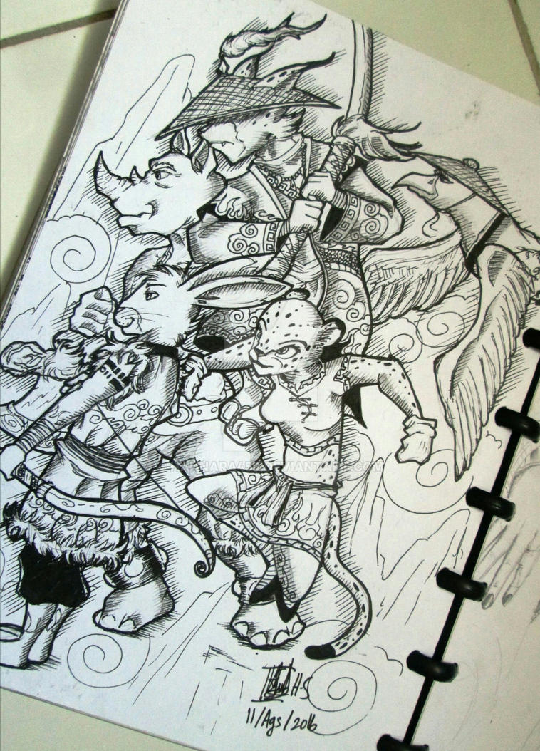 Animal Fantasy design by Hannara459