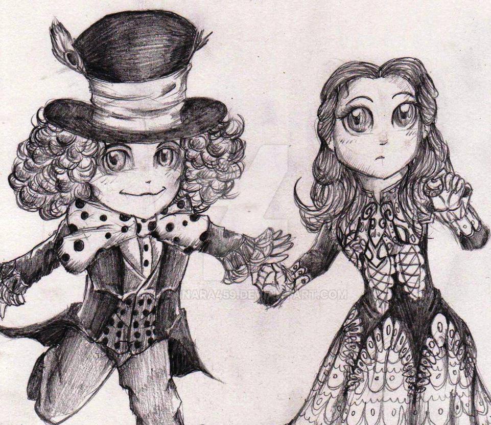 Mad and Alice by Hannara459