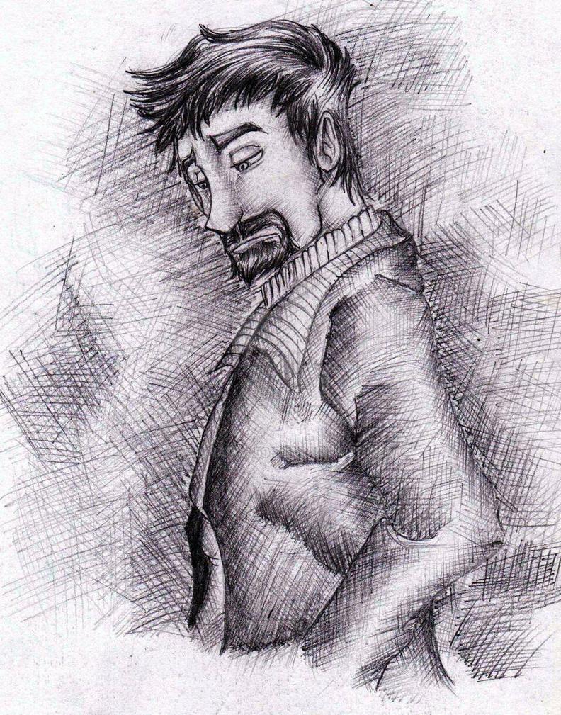 Man (character design) by Hannara459