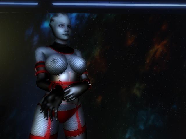 Asari cosplay porn