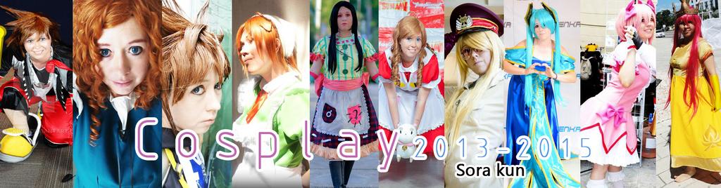 Cosplays 2012-2015 by 0Sora-kun0
