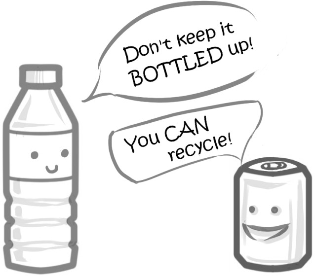 Recycling: You CAN do it -- By \