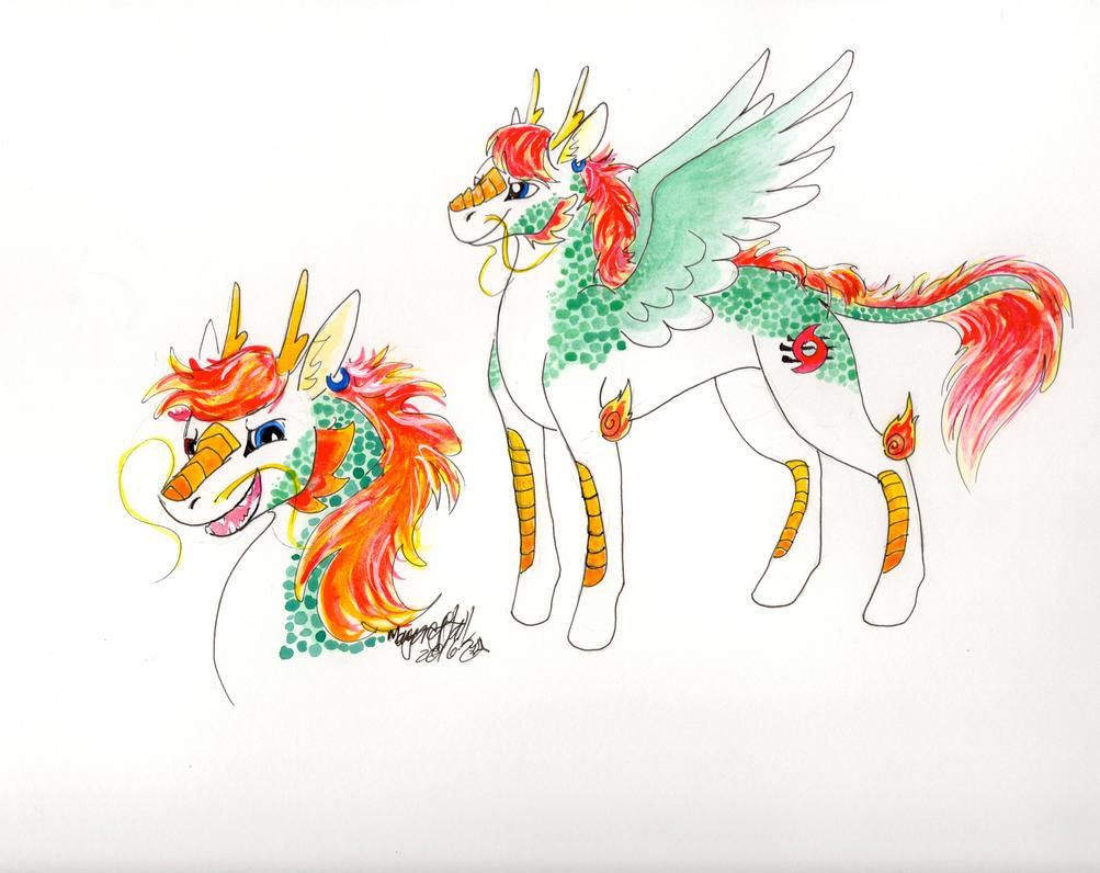 Dragon-pone by Baramin-Fatalis