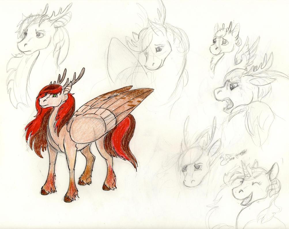 Character Study: Faunasha by Baramin-Fatalis