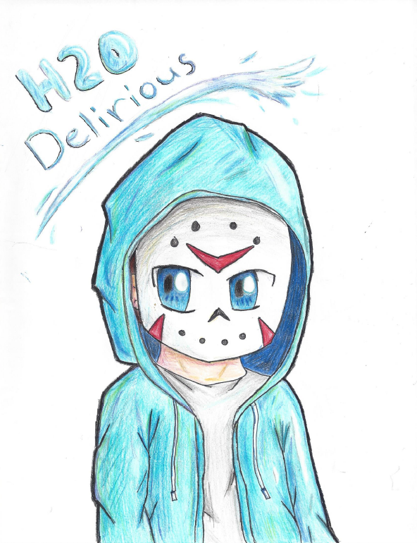 H2O Delirious by Peperle11 on DeviantArt H2o Delirious Drawings