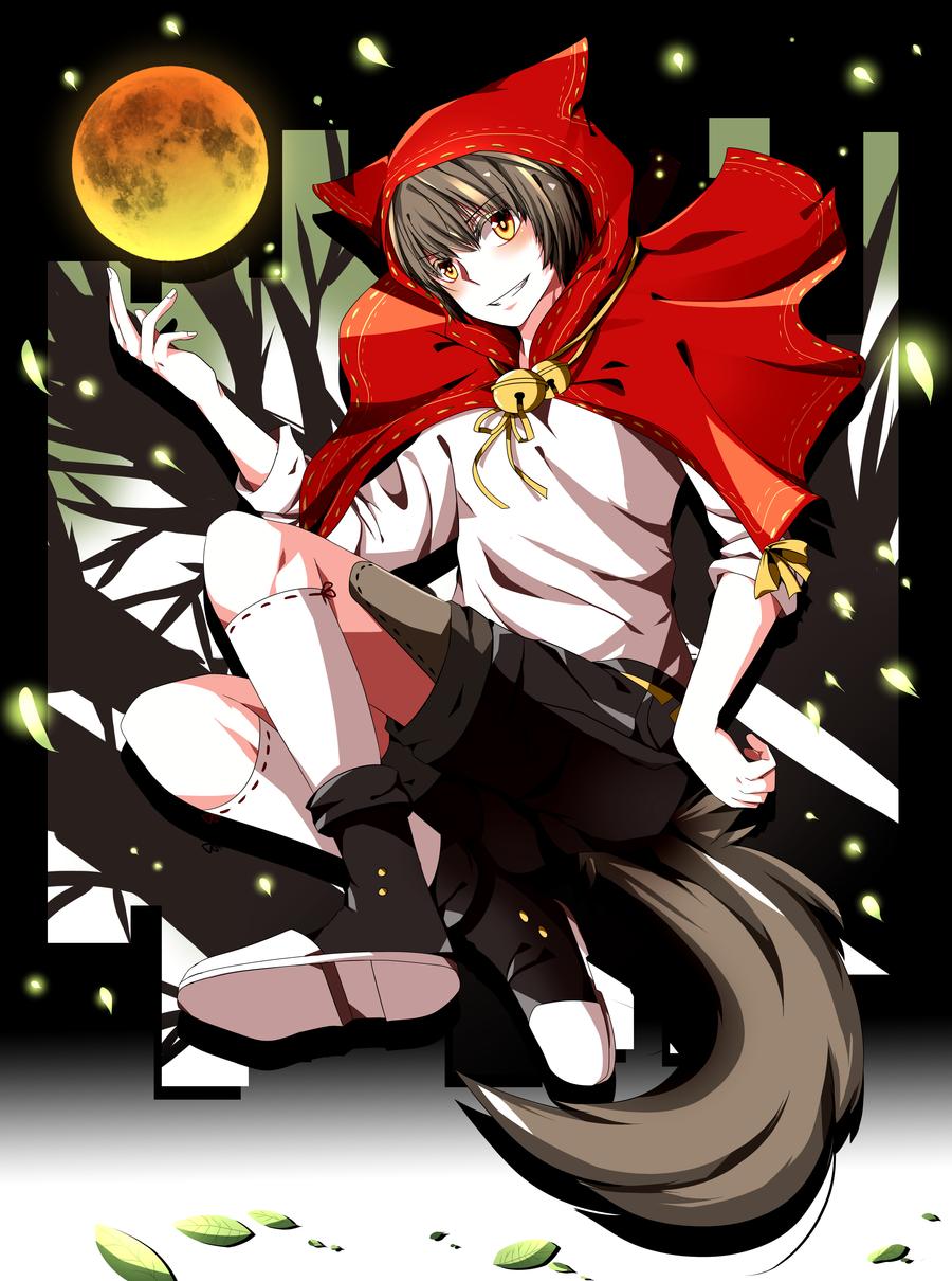 Red Riding Wolf by Kuru-sann