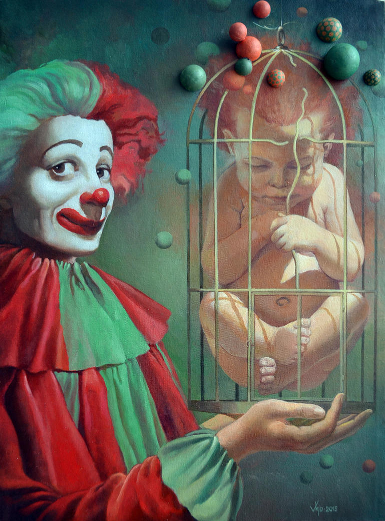 Clowns by wicked-vlad