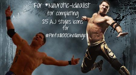 :AJ Styles Banner for Neurotic-Idealist: by RyanTaylorGirl