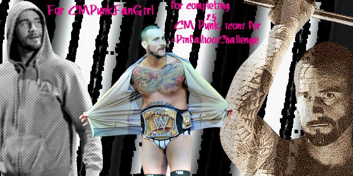 :CM Punk Banner for CMPunkFanGirl: by RyanTaylorGirl
