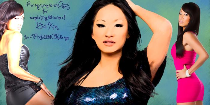 :Gail Kim Banner for mynameis-snAzzy: by RyanTaylorGirl