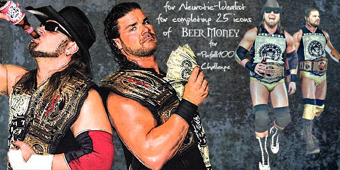 :Beer Money Banner for Neurotic-Idealist: by RyanTaylorGirl