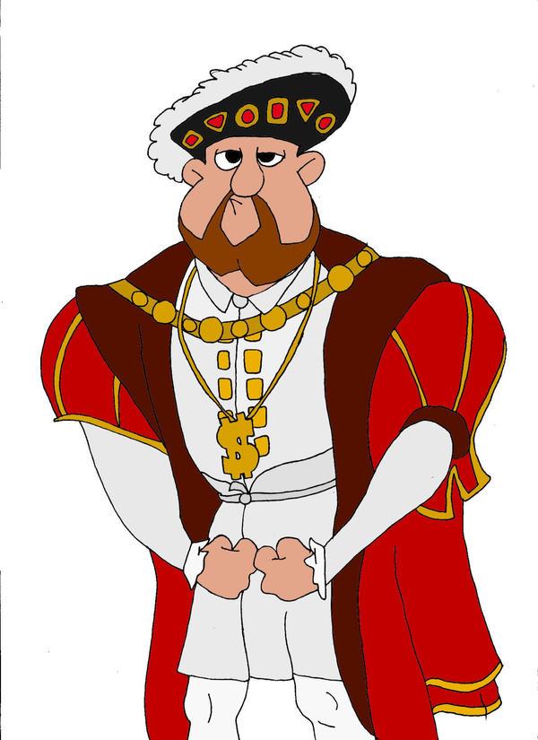 Henry VIII by Wzzkid94