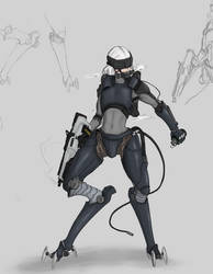 Cyborg Request by SirPetus