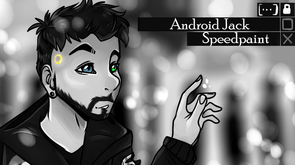 Android Jack - FanArt Speedpaint by HannahTailz
