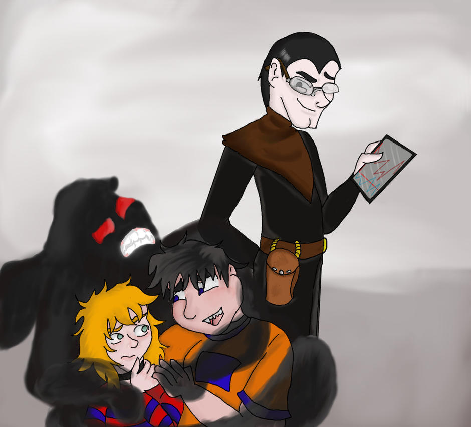 The Institute Crew by QweXTheXEccentric