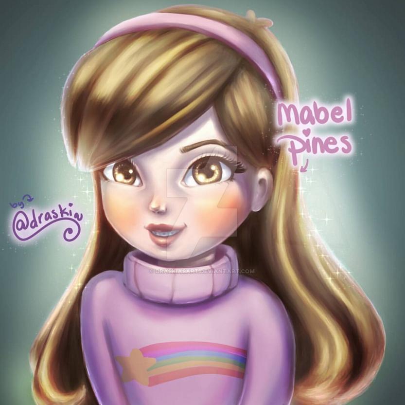 Mabel Pines by DraskiasArt
