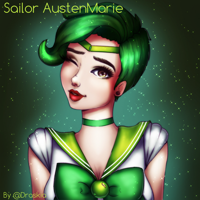 Sailor AustenMarie by DraskiasArt
