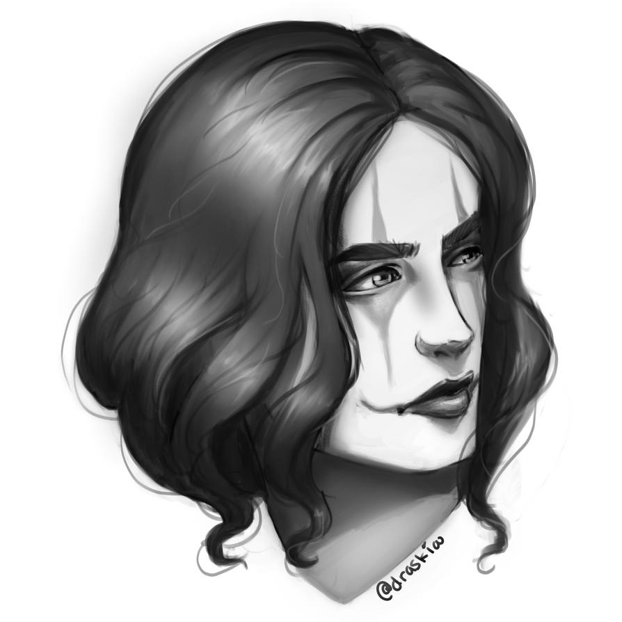Crow by DraskiasArt