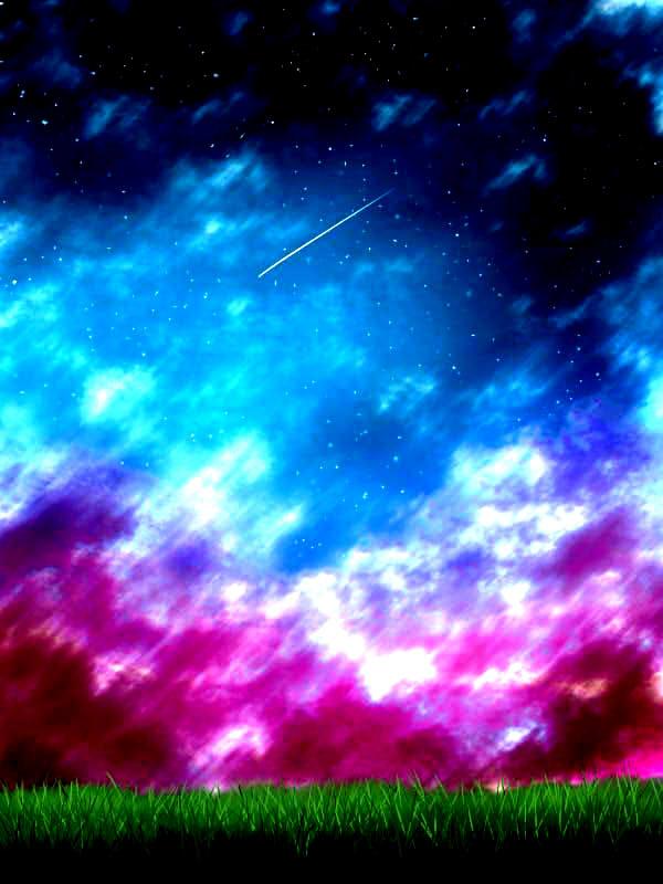 A falling star by YakumoKurama