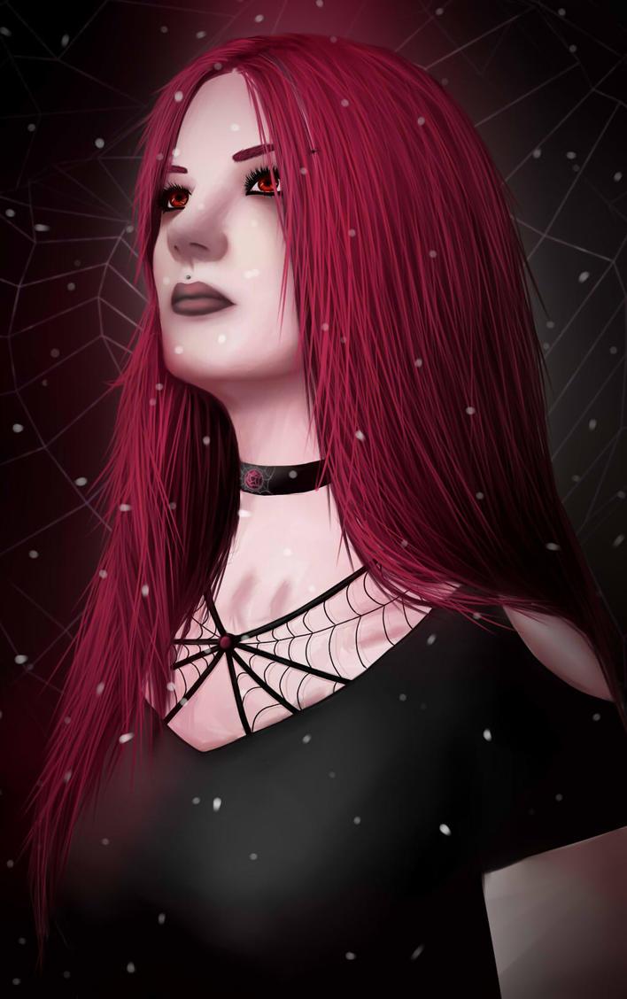 Spider web by YakumoKurama