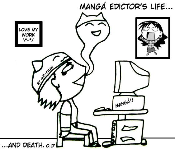 manga edictors life by And-chan