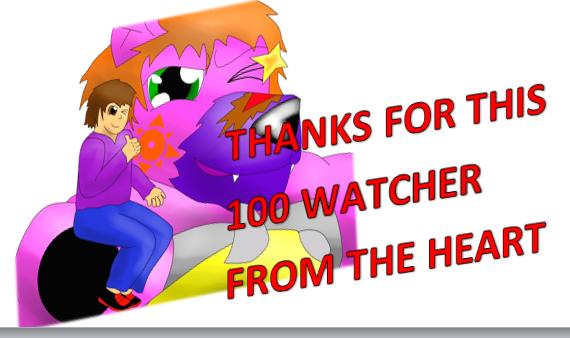 GRACIAS POR ESTOS 100 WATCHERS by EnriqueBravo