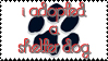 Shelter Dog Stamp by As-Death-Becomes-Her