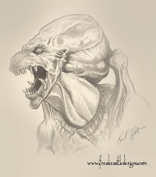PUMKINHEAD Sketch by FREAKCASTLE