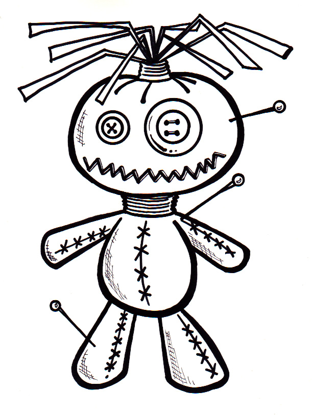 Voodoo Doll by FREAKCASTLE on DeviantArt