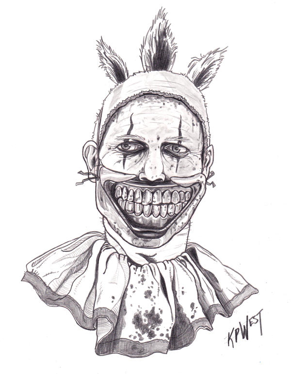 Day020 Twisty The Clown by FREAKCASTLE on DeviantArt
