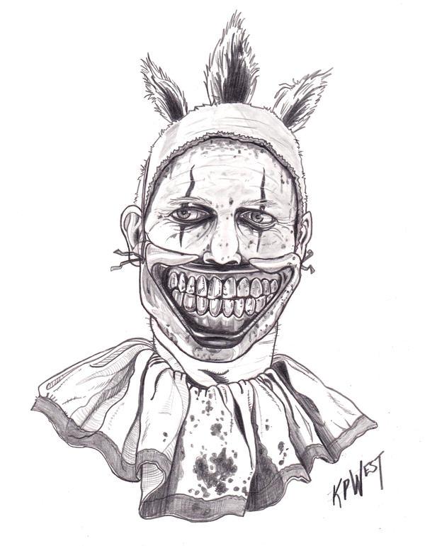 Day020 Twisty The Clown by FREAKCASTLE on DeviantArt