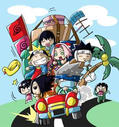 naruto goes vacation by Himenyuu
