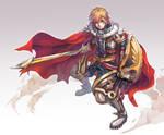 Valiant Force - Knight of Eden, Asher Reignald.