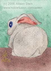 Stone Bunny by darkart42