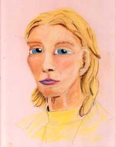 Portrait Class, Final Drawing by darkart42