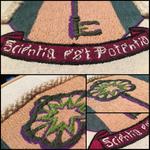 Scientia est Potentia - Embroidery